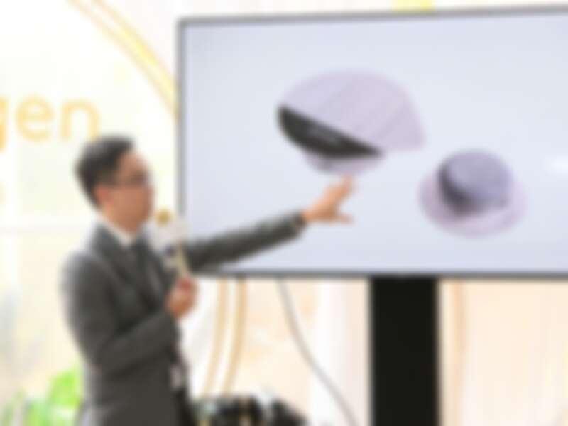 林亮辰醫師解說活氧泡泡。