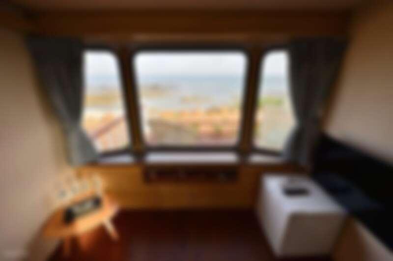 澎湖覓海灣露營車。Source: KLOOK