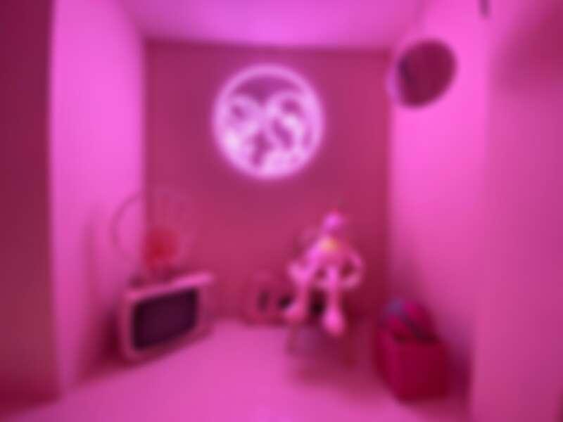 粉紅籃球區