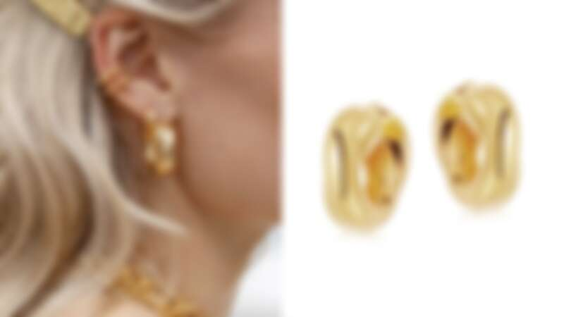 Missoma x Lucy Williams Gold Chunky Entwine Hoops