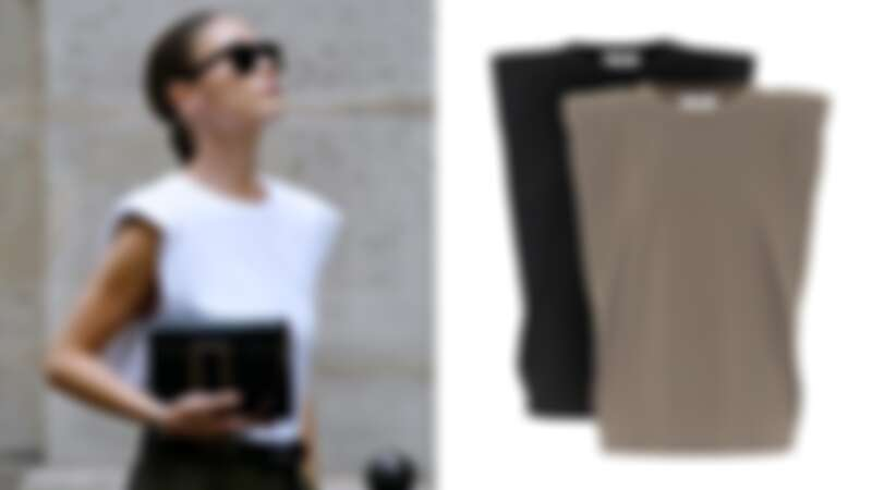 The Frankie Shop Eva Sleeveless T-Shirt