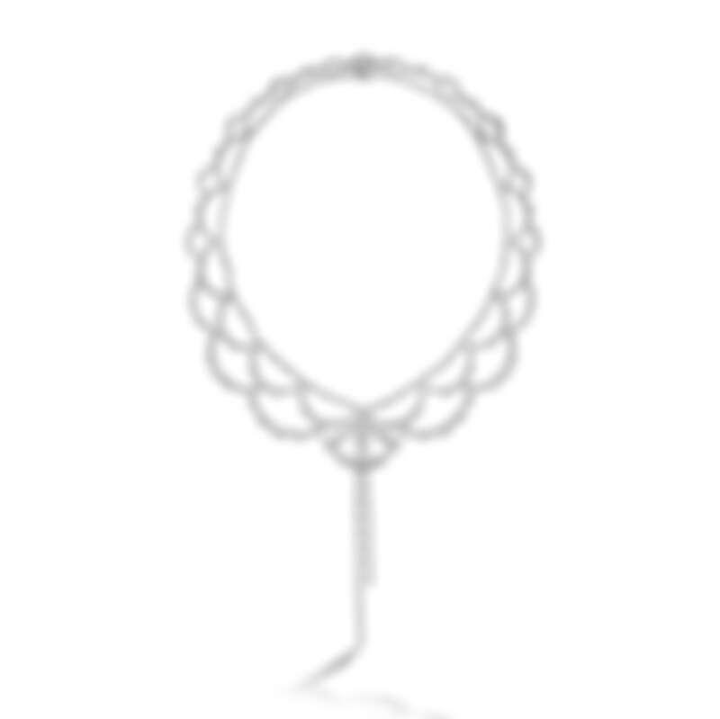LORELEI REVERIE系列可轉換式設計白K金鑽石項鍊