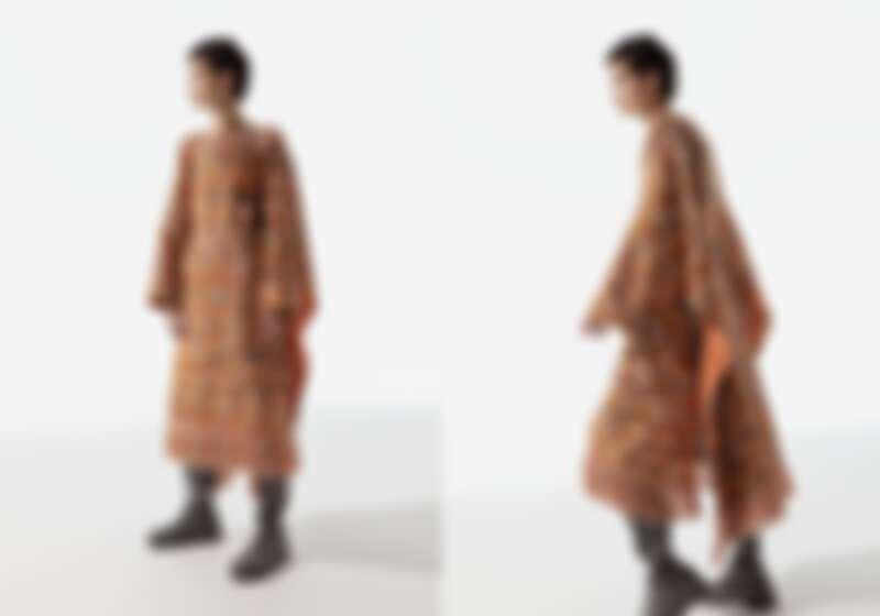 韻雅聲浪圓領洋裝NT153,300