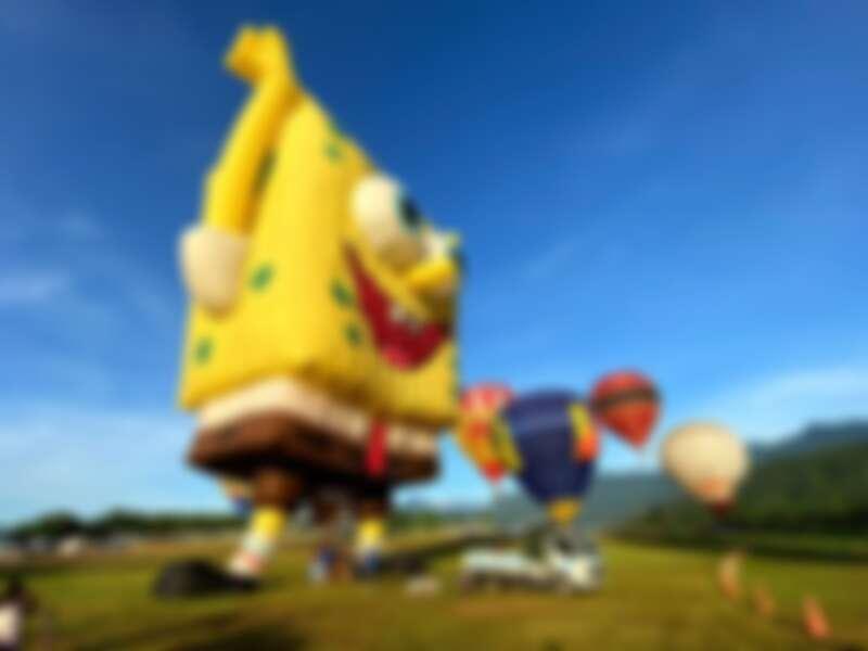 「2020臺灣國際熱氣球嘉年華」現場美景