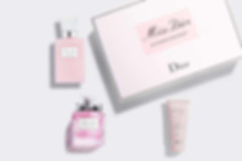花漾迪奧香氛潤膚組:花漾迪奧淡香水50ml、花漾迪奧芬芳身體乳75ml、Miss Dior玫瑰護手霜20ml