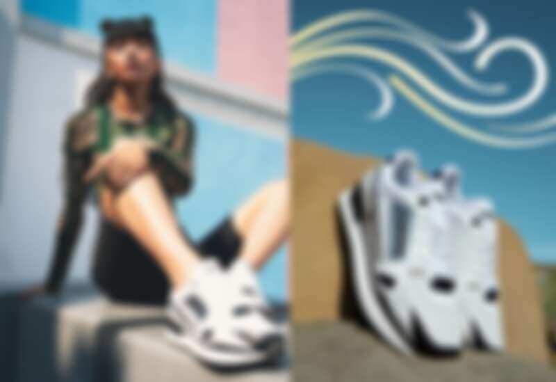 流行系列PUMA QUEEN 印花薄長T恤,NT1,780、流行系列PUMA QUEEN 短褲,NT1,780、Mile Rider Sunny GatawayWn's鞋款,NT2,980