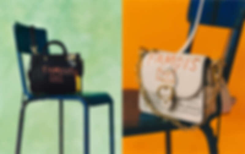 Coach x Jean-Michel Basquiat Rogue 25手袋TWD 35,800/ Coach x Jean-Michel Basquiat Beat 手袋TWD 25,800