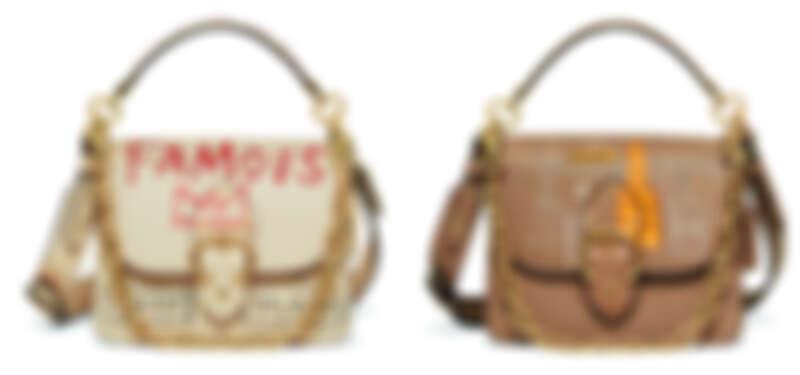 Coach x Jean-Michel Basquiat聯名系列Beat 手袋,各NT25,800。