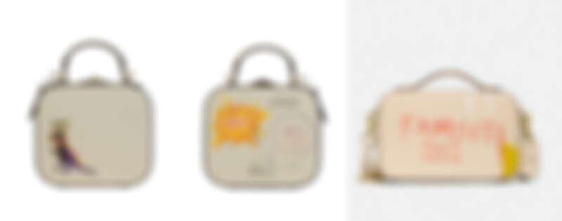 Coach x Jean-Michel Basquiat聯名系列Square 手袋,NT27,800、Alie Belt 手袋,NT 16,800。