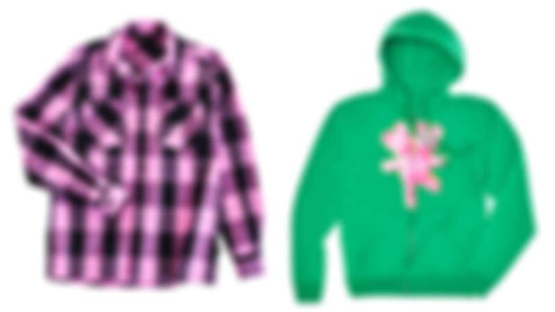雙頭熊格紋襯衫,NT6,290、雙頭熊連帽拉鍊外套,NT8,990。
