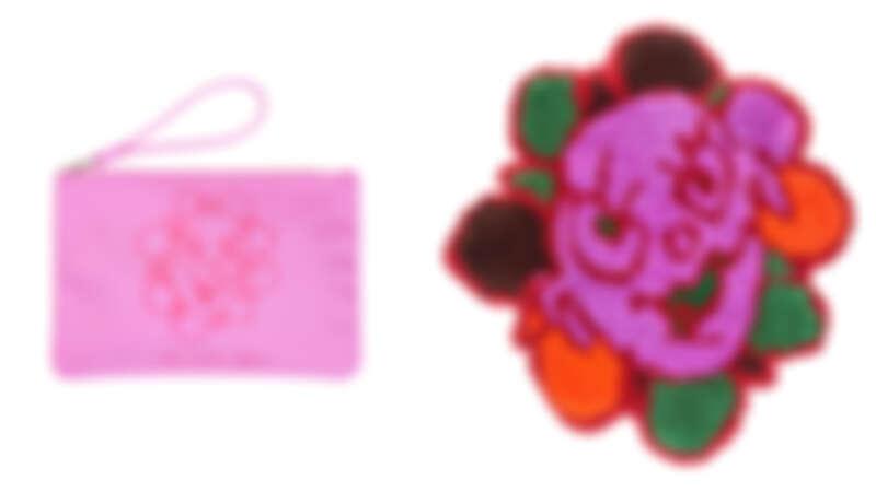 「瘋狂Daisy」印花小包,NT2,490、「瘋狂Daisy」印花手拿包,NT19,900。