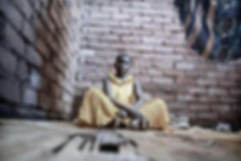 來自馬拉威16歲的安娜(Anna Laison)是一位HIV和結核病陽性患者。MSF在非洲多國進行HIV防治計畫。© Luca Sola