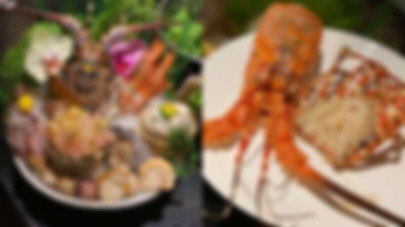 招牌「七彩龍蝦」套餐