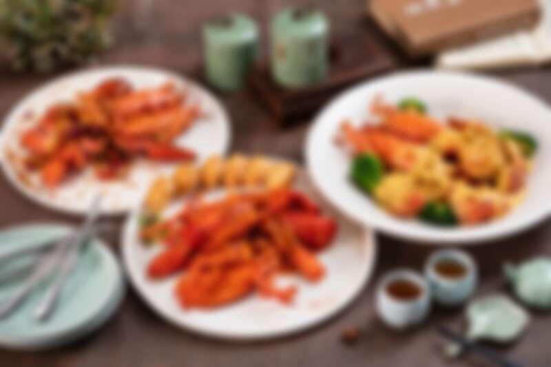 醬燒栗子南瓜、避風塘、星洲辣椒炒