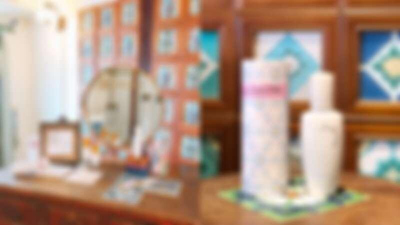 Sulwhasoo雪花秀潤燥養膚精華2020公益限定版與嘉義花磚博物館合作