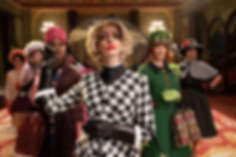 安海瑟薇演出《女巫們》