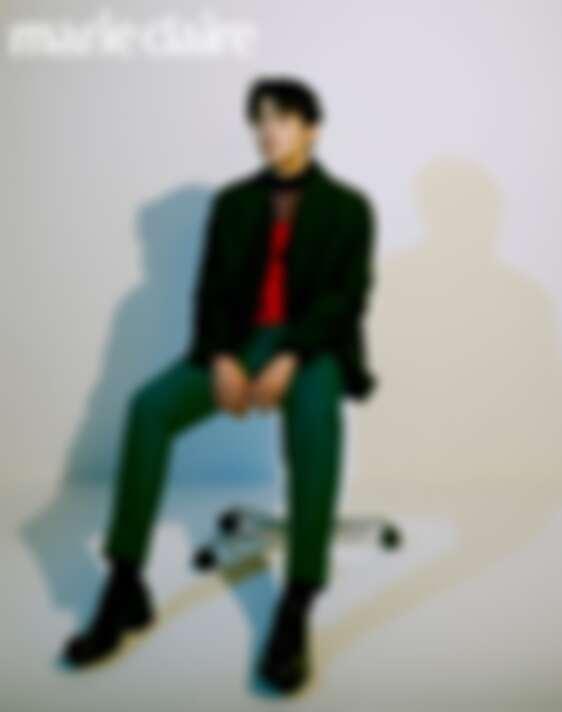 金宣虎 接受韓版《美麗佳人》專訪