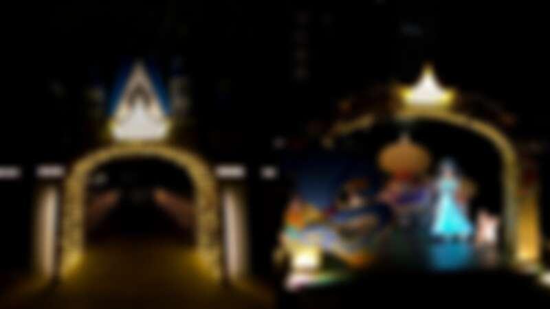 「迪士尼公主的童話森林」實拍
