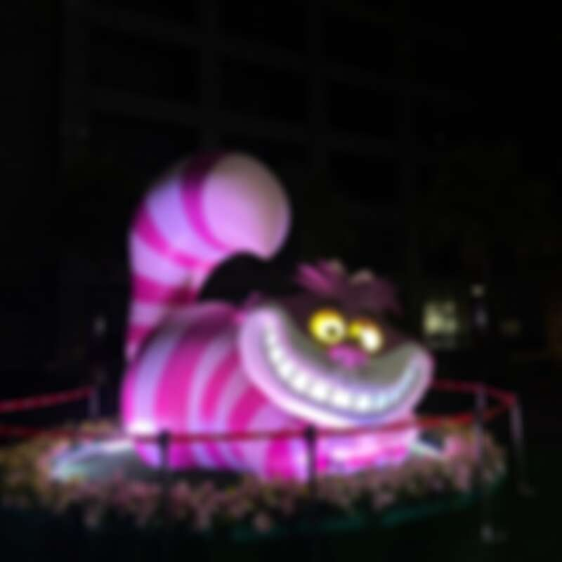 中山新府路口裝置物-夢境漫遊「妙妙貓」實拍