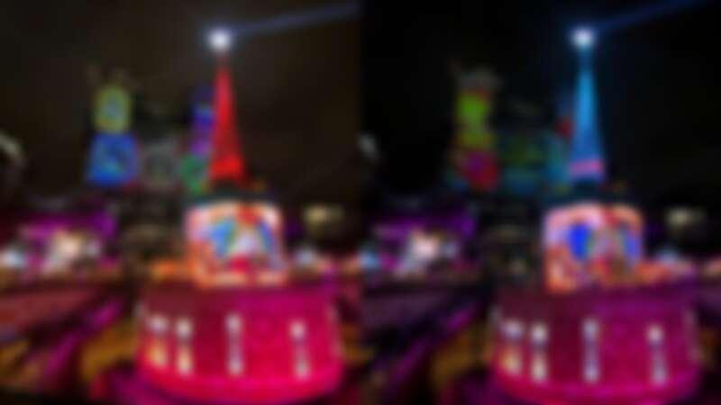 市民廣場主燈耶誕樹實拍