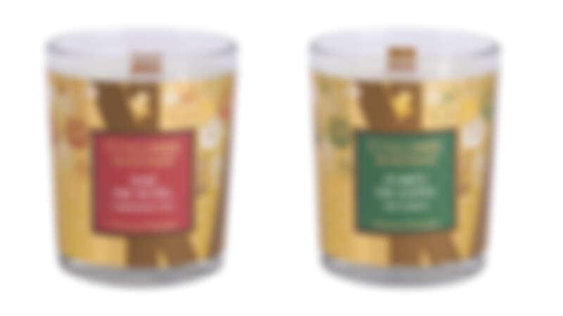 左:耶誕暖茶、右:杉木森林