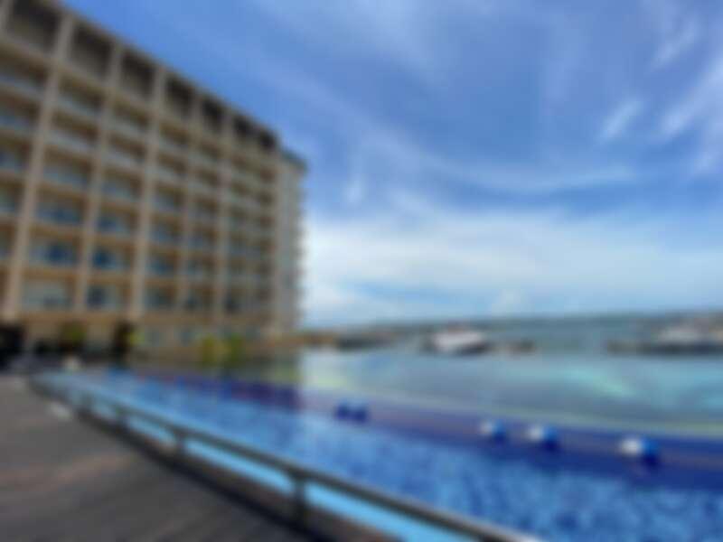 澎湖福朋喜來登酒店 26米長無邊際泳池