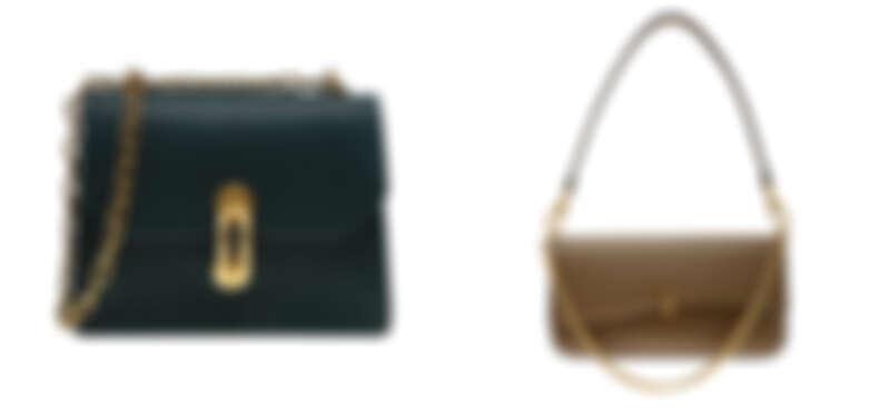 金屬扣環鍊條包,NT2,390、金屬鍊條長形手提包,NT2,390