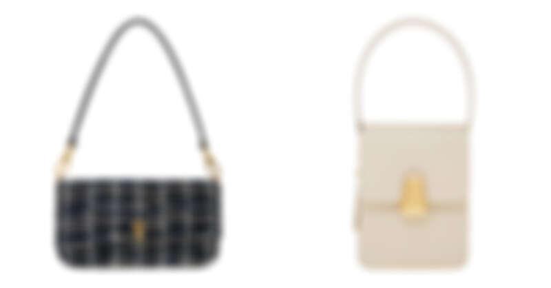 毛呢手提包,NT1,890、復古長型手提,NT1,790