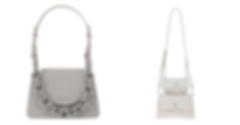 大象灰粗練包,NT2,790、壓紋鍊條子母包,NT2,890