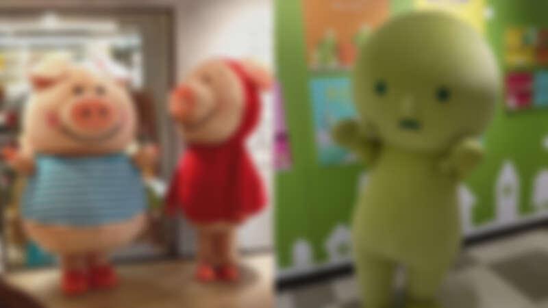 誠品生活耶誕市集 11/28、11/29德國人氣玩偶NICI小豬威比 12/12、12/13日本SMISKI夜光精靈人偶現身,拍照打卡再送精美小禮物。