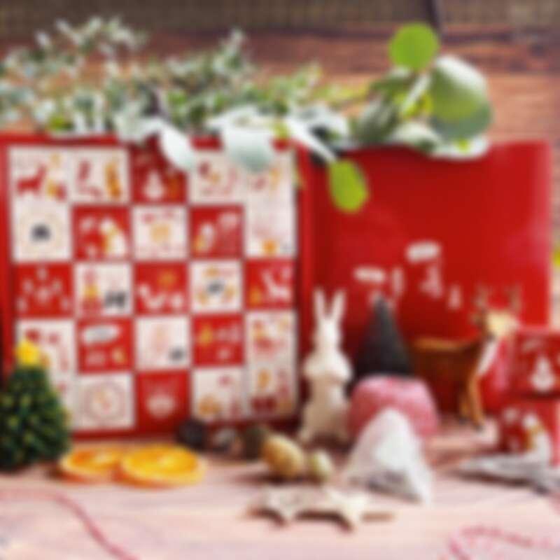 誠品生活耶誕市集 森小姐的茶店 聖誕歡慶倒數月曆禮盒 特價1,088元 原價1,968元。