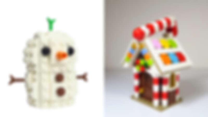 12/5-12/20指定活動日期,誠品生活南西、信義、松菸、台南文化中心、高雄悦誠店也有小雪人與薑餅屋的積木手作課程。