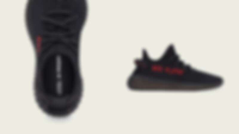 YEEZY BOOST 350 V2 CORE BLACK/CORE BLACK/RED成人款,NT8,800
