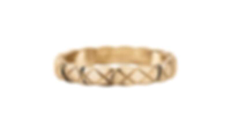 CHANEL Coco Crush系列珠寶窄版款戒指 (2020新品),售價NT 44,000