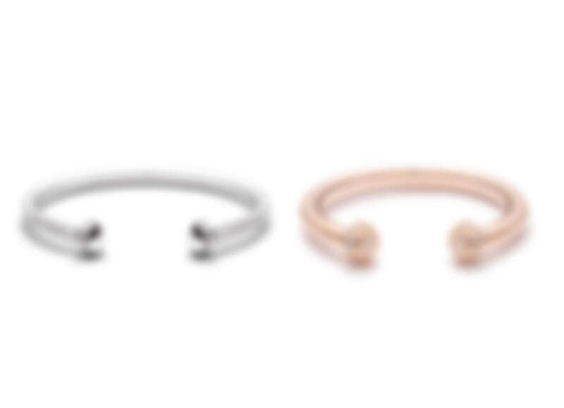 PIAGET Possession系列18K白金鑽石手鐲,PIAGET Possession系列18K玫瑰金鑽石手鐲