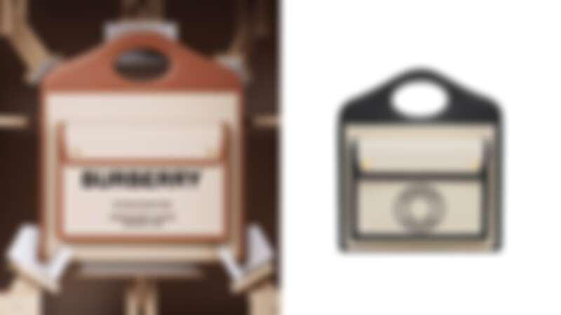 Burberry Pocket售價:(左)價格店洽、(右_迷你)NT41,500