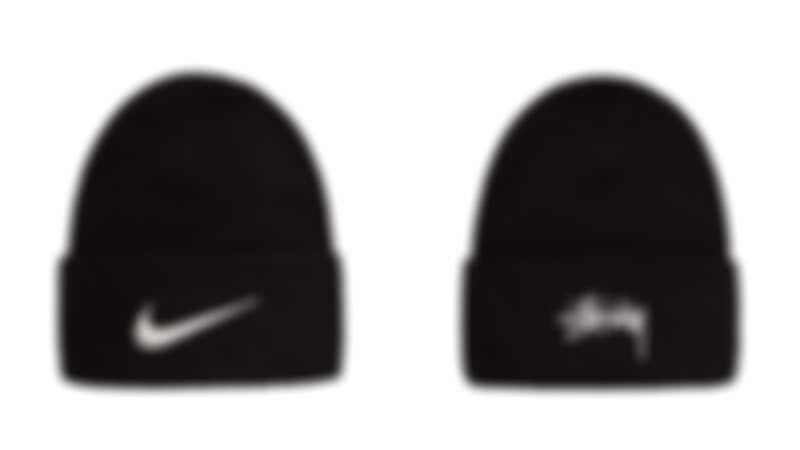 Nike X Stüssy聯名系列毛帽