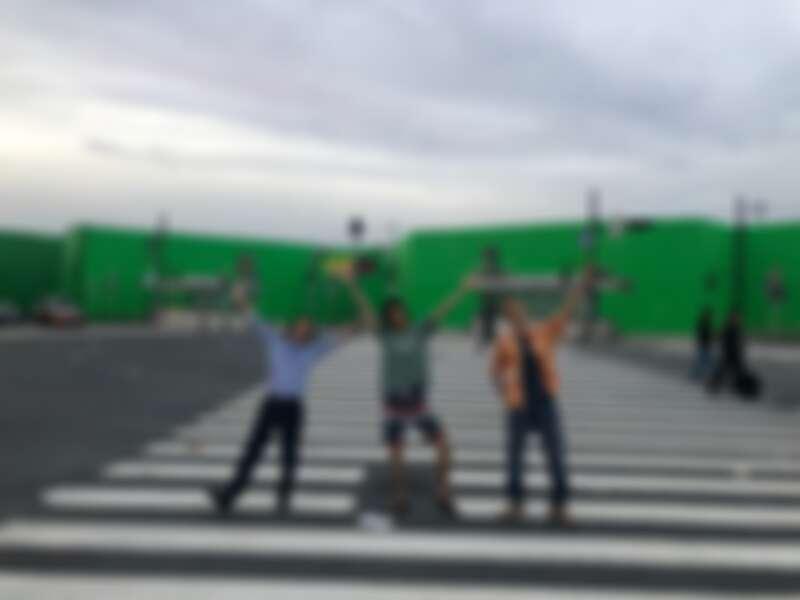 Netflix 《今際之國的闖關者》CG特效東京涉谷空城畫面