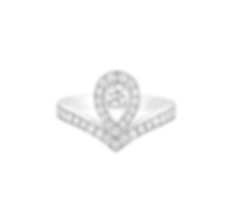 Chaumet 尚美 Josephine Aigrette系列18K白金鑽戒,售價NT275,000起