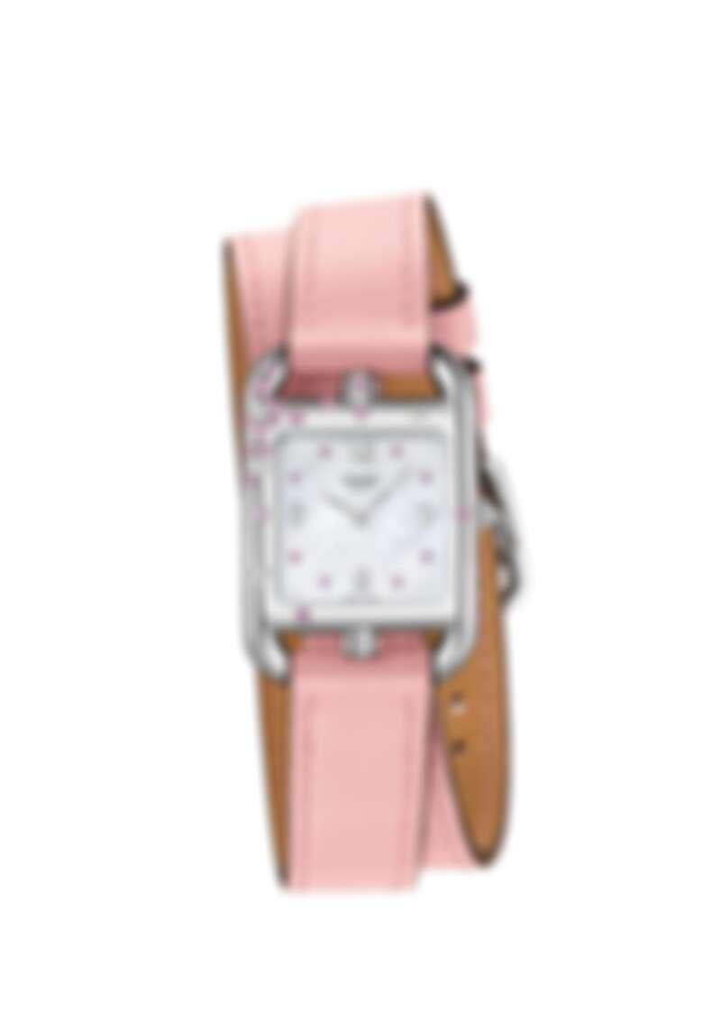 Hermès 愛馬仕 Cape Cod系列Sakura手錶,售價NT163,800