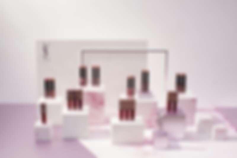 YSL奢華玫瑰金系列(奢華緞面霧光唇膏、奢華緞面高光唇釉)