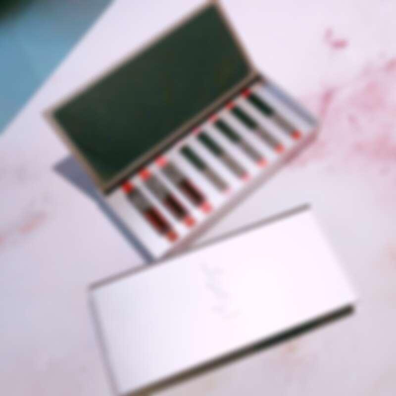 YSL限量奢華玫瑰金收納盒
