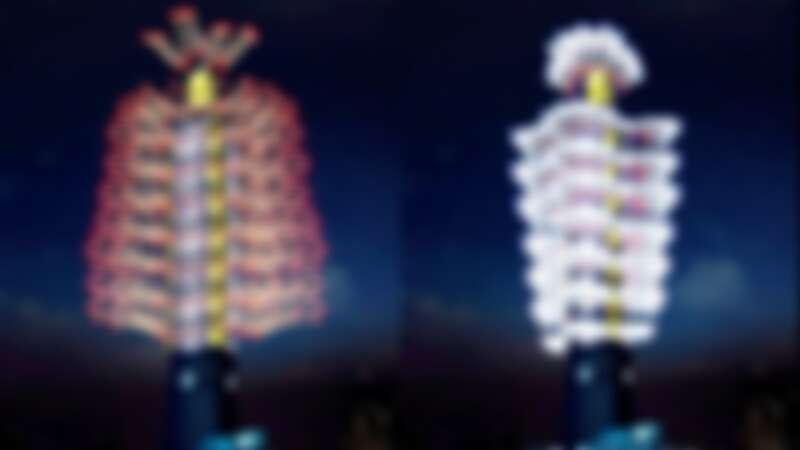 台北101跨年煙火秀