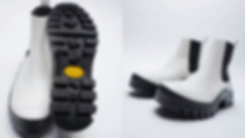VIBRAM®鞋底真皮平底短靴_NT5,490