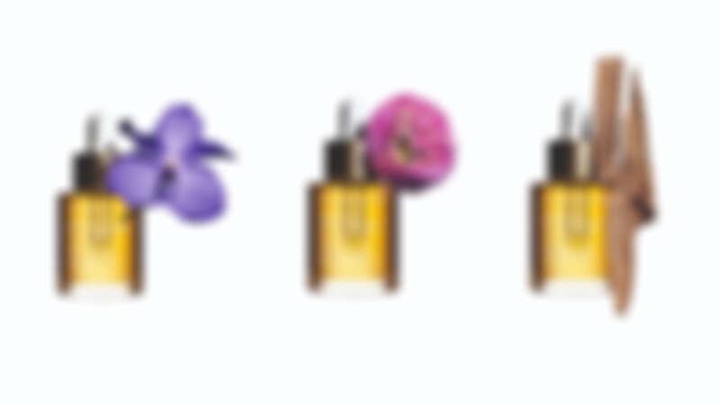 蘭花面部護理油,30ml,NT1,850、蓮花面部護理油,30ml,NT1,850、三檀面部護理油,30ml,NT1,850。