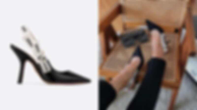 Dior J'Adior露跟高跟鞋