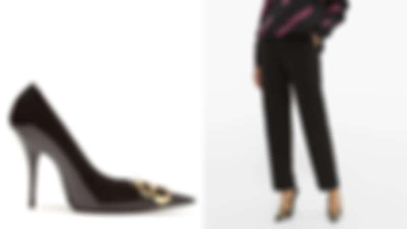 Balenciaga BB高跟鞋