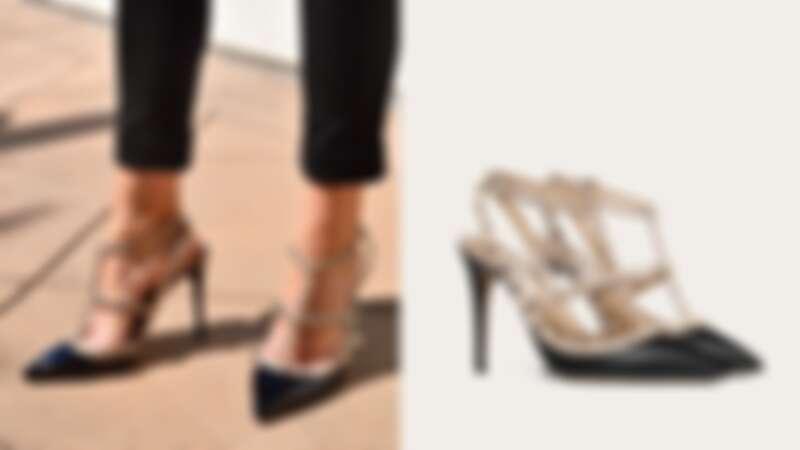 Valentino Rockstud鉚釘高跟鞋