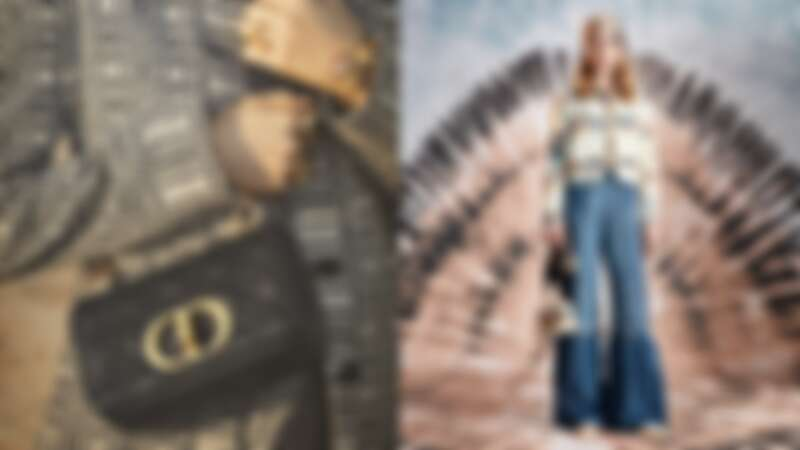 Dior Caro鏈帶翻蓋包