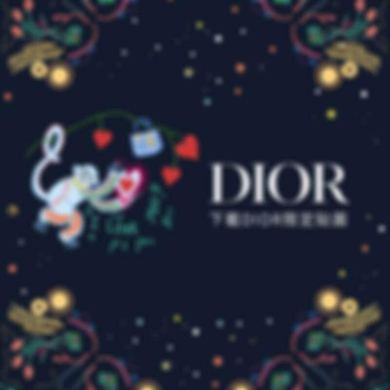 Lady Dior限定Line貼圖